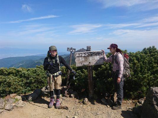 登山部 甲斐駒ケ岳 20170620 (22)