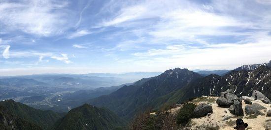 登山部 甲斐駒ケ岳 20170620 (39)2