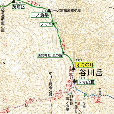 谷川岳 map 05