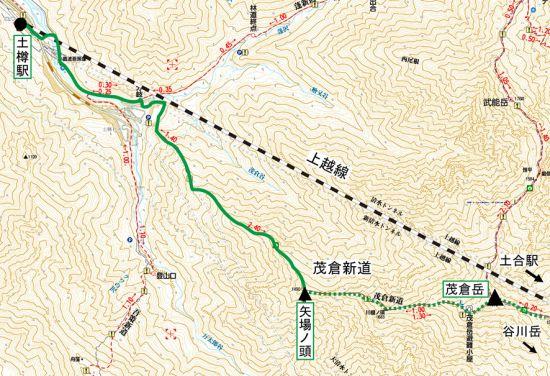 谷川岳map 06